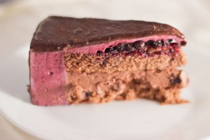 Blueberry&Chocolate Entremet-1