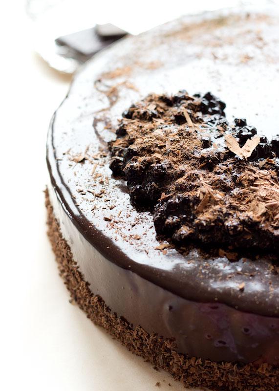 Blueberry&Chocolate Entremet-9