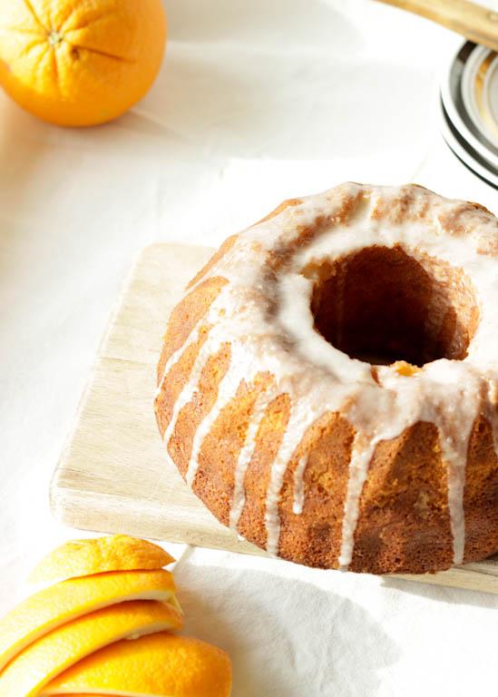 Orange Bundt Cake 2