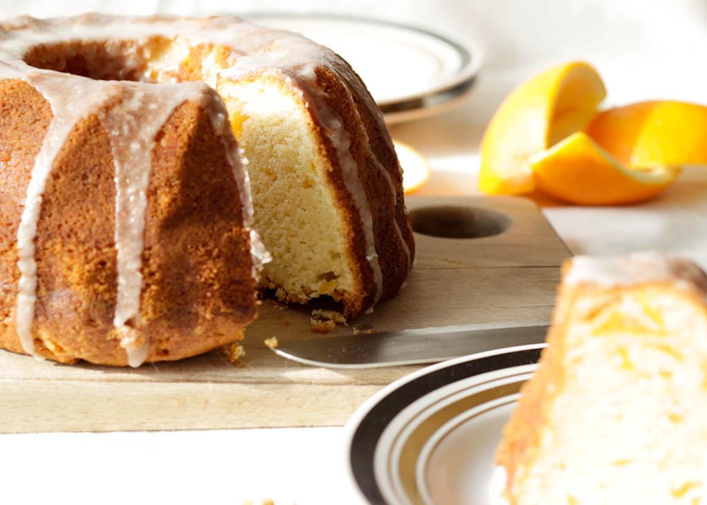Orange Bundt Cake 3