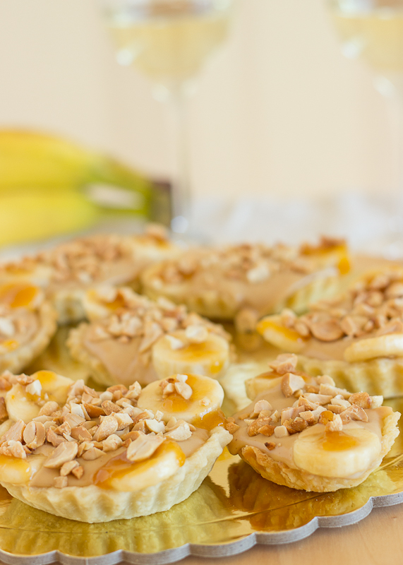 Banana and Peanut Butter Tartlettes-10