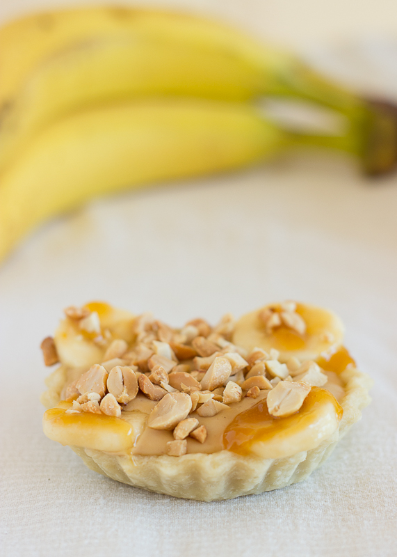Banana and Peanut Butter Tartlettes-11