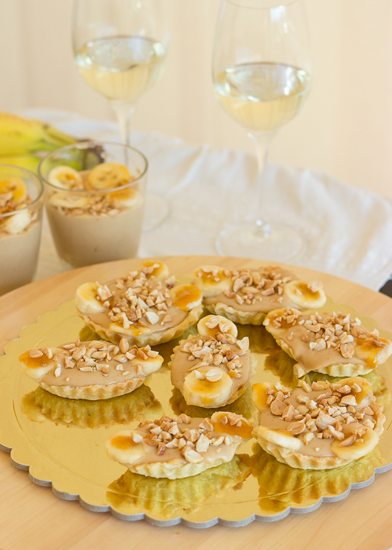 Banana and Peanut Butter Tartlettes-13