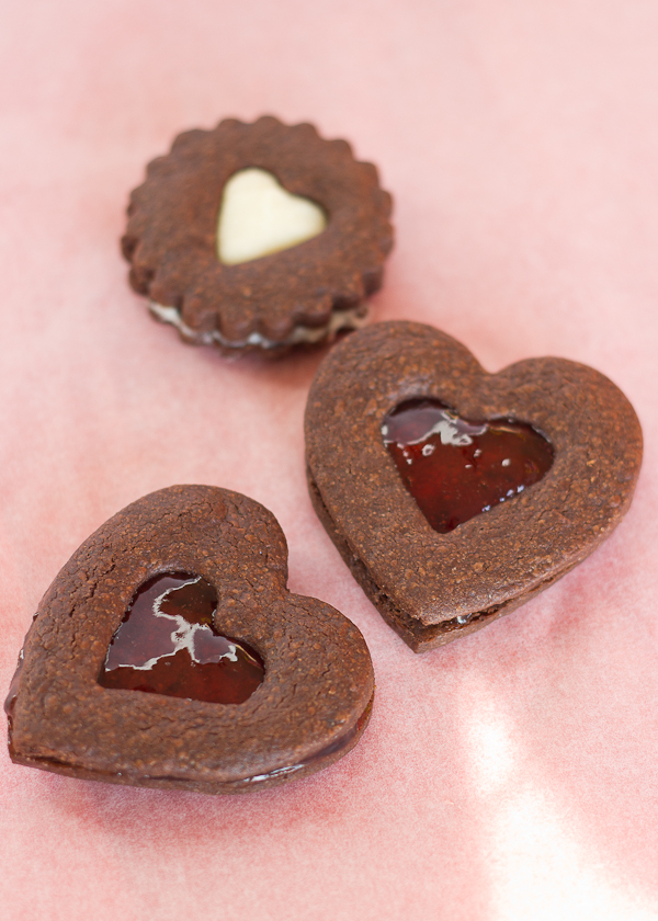 Chocolate Heart Cookies-4