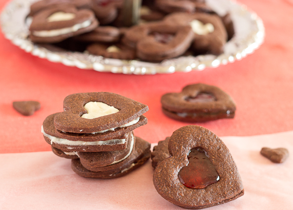 Chocolate Heart Cookies-7