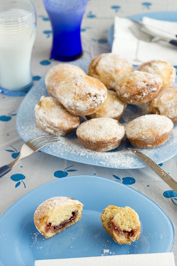 Strawberry Donut Muffins-18