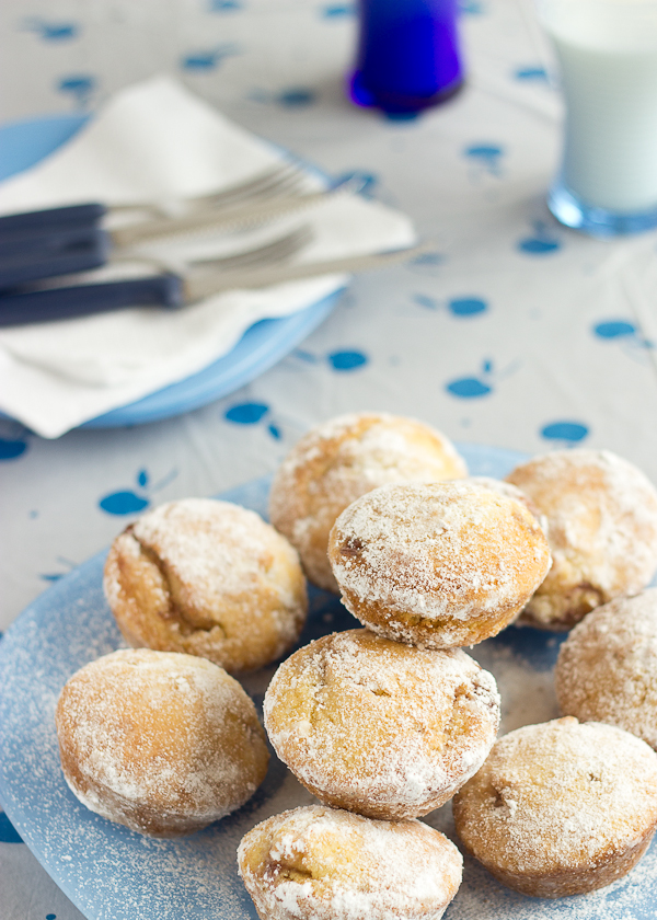 Strawberry Donut Muffins-6