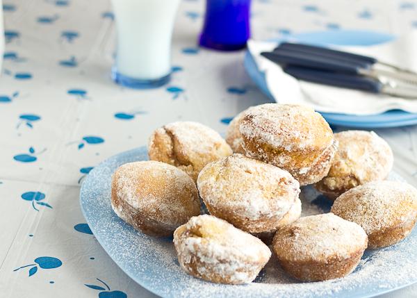 Strawberry Donut Muffins-9
