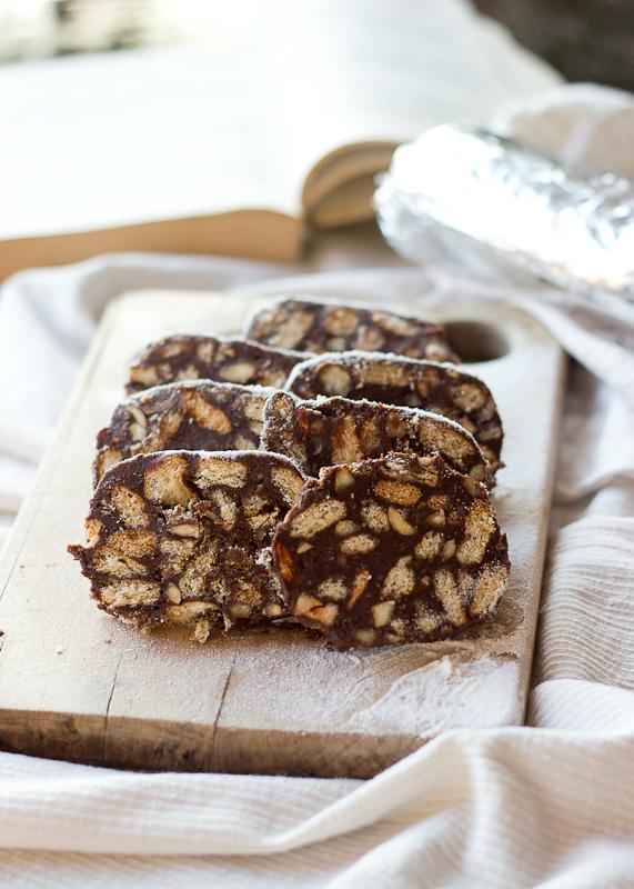 Chocolate Salami Cake-4