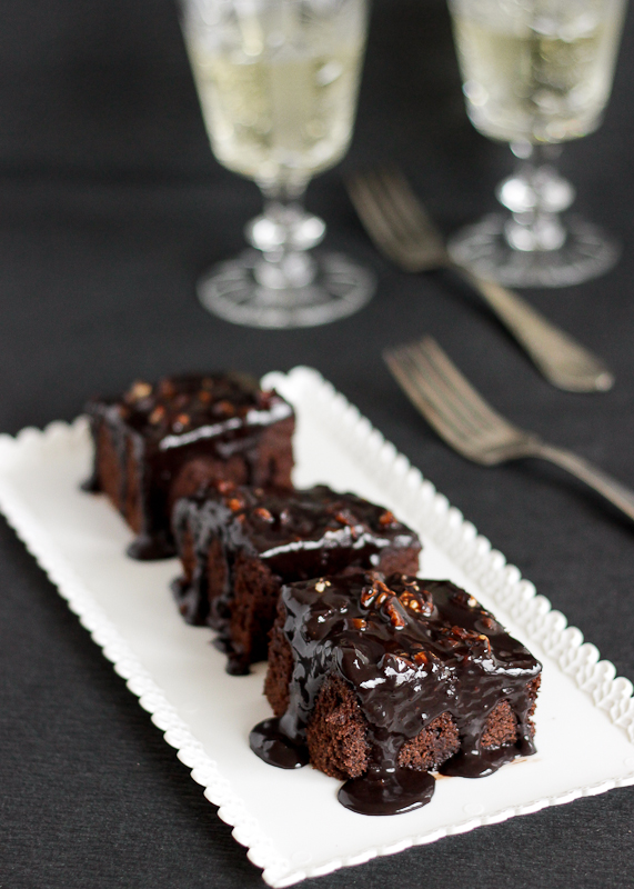 Chocolate Sheet Cake-8