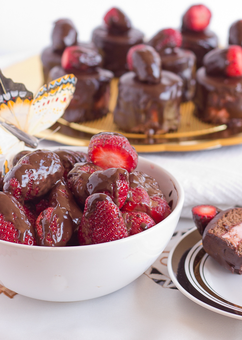 Strawberry Chocolate Petit Fours-23