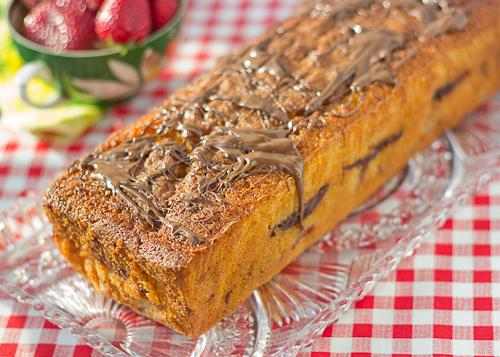 Strawberry Nutella Pound Cake-4