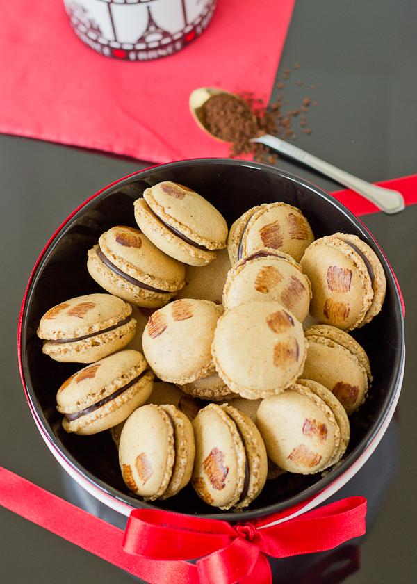 Mocha Macarons -1