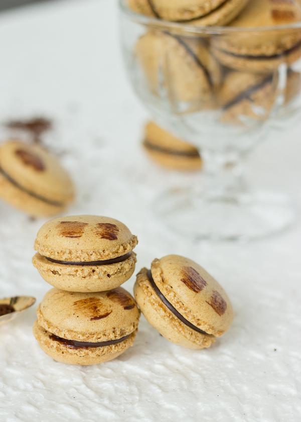 Mocha Macarons -24
