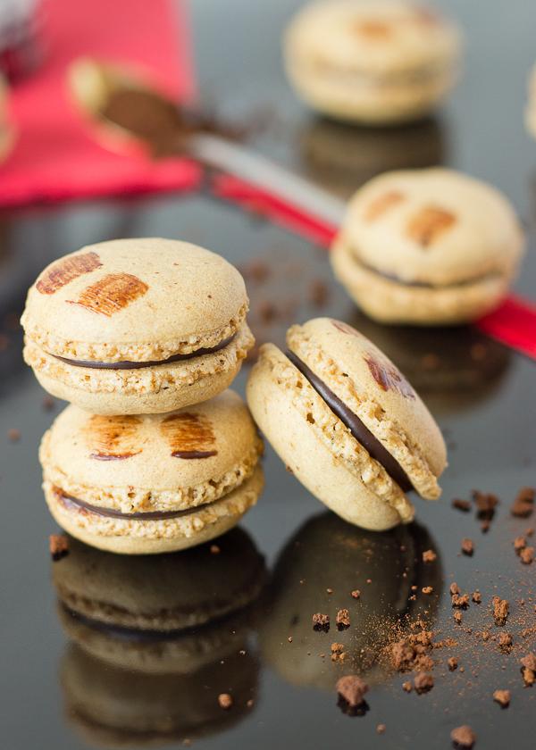 Mocha Macarons -6