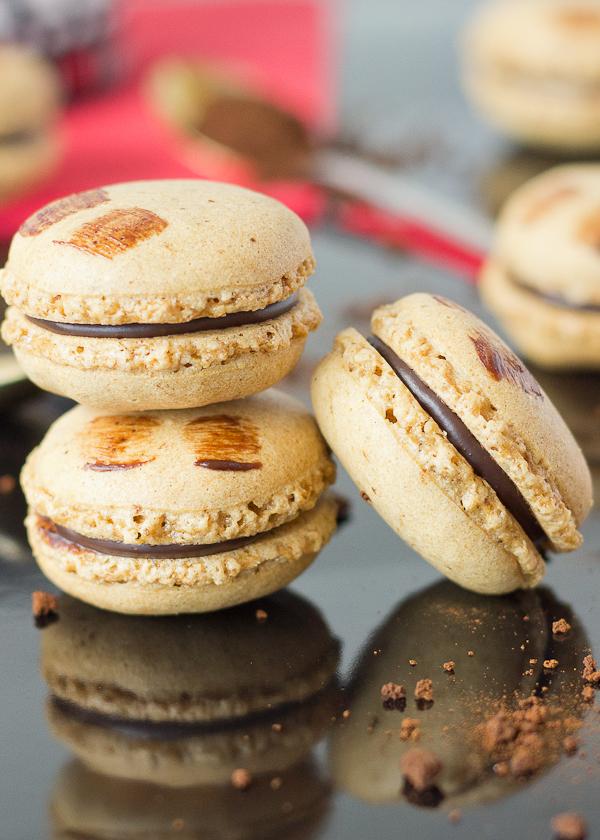 Mocha Macarons -9