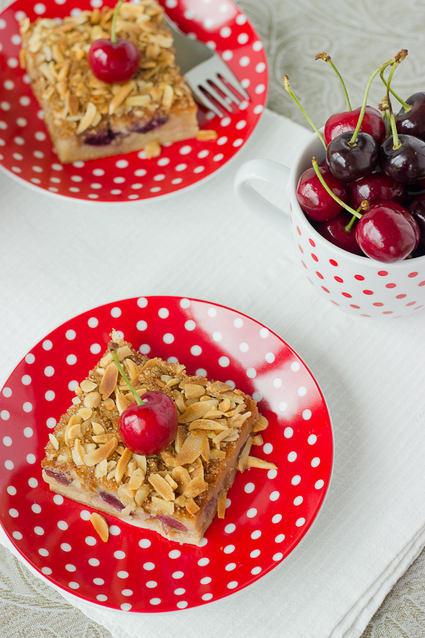 Cherry Almond Clafoutis - Baking After Dark