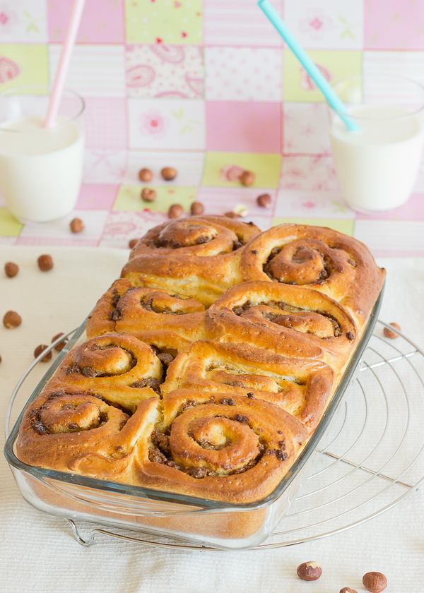 Praline Rolls - Baking After Dark