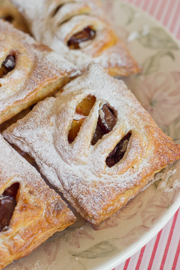 Mini Peach and Cherry Pies - Baking After Dark
