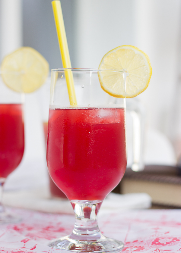 Boozy Summer Lemonade - Baking After Dark