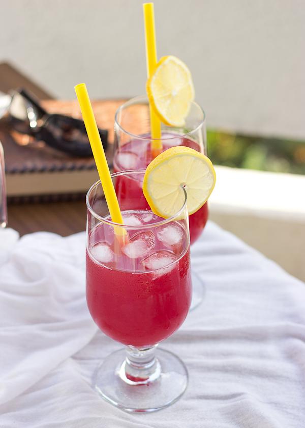 Boozy Summer Lemonade - Baking After Dark
